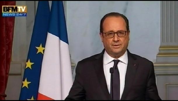 Hollande, rischio terrorismo è altissimo