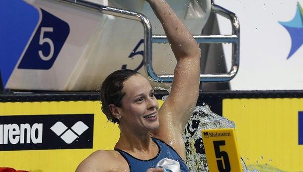 Europei 25 m: Pellegrini regina dei 200