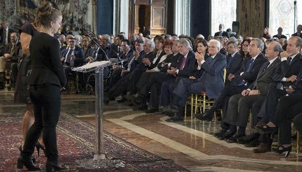 Mattarella, muri indeboliscono Paese