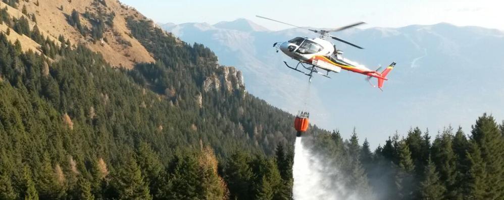 Incendio sul Monte Pora Dubbi sulle cause del rogo