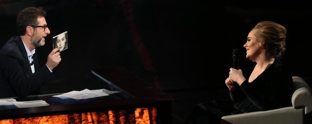 Adele da Fazio: «In pace con me stessa» Video - Concerti a Verona già sold out