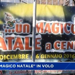 Il Magico Natale di Cene con elicottero ed Ecocafè