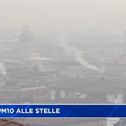 Smog, PM10 alle stelle