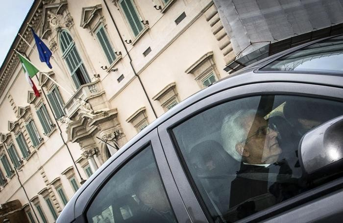 Sabato 31 gennaio 2015: Mattarella arriva alla Corte Costituzionale