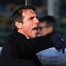 Gianfranco Zola, allenatore del Cagliari