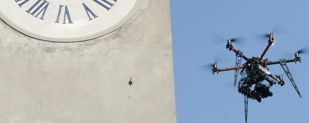I robot volanti sbarcano a Bergamo Cresce il mercato, arriva l'Expo dei droni