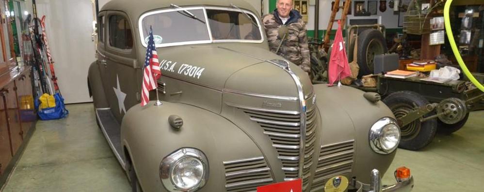 Il restauratore di rottami di guerra Tutto è iniziato da un camion Usa