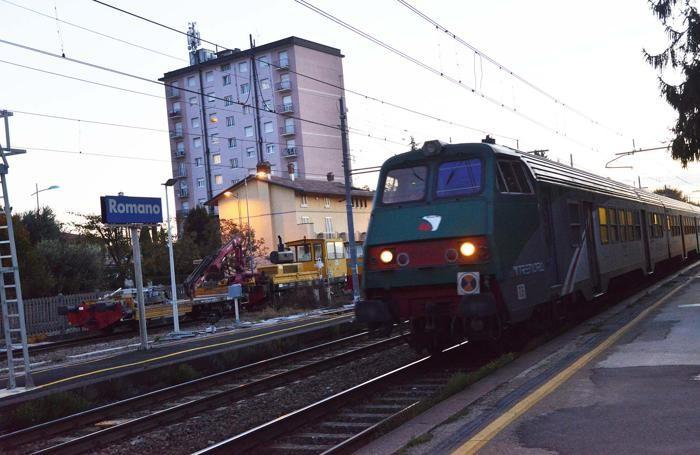 Stazione di Romano di Lombardia