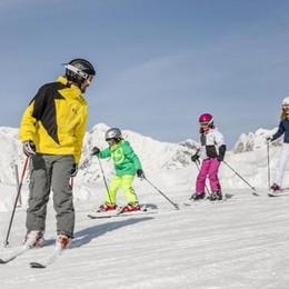 Monte Cavallo e Ladurns neve a misura di famiglia