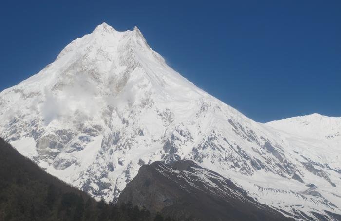 Il  Manaslu, 8.163 metri