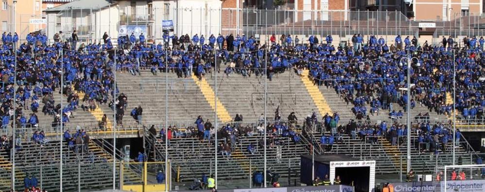 Atalanta-Inter, riapertura a metà Senza tessera del tifoso, ma nelle tribune