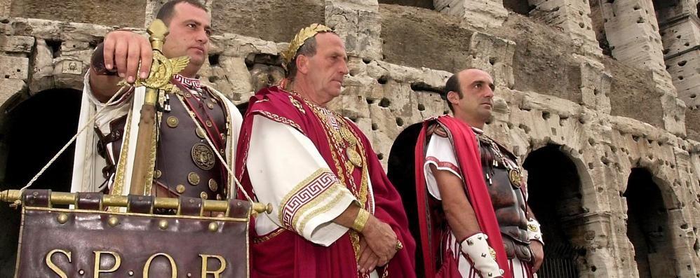 Carnevale nell'antica Roma Ma all'archeologico di Città Alta