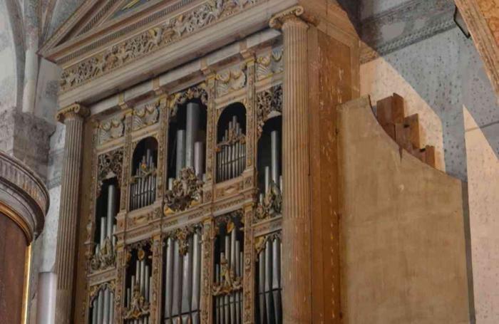 L'organo di Antegnati, a Brescia