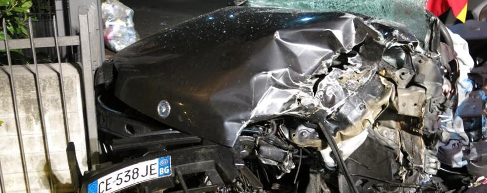 Gravissimo incidente a Clusone Muore 21enne di Sovere, tre feriti