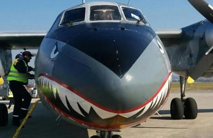 L'aereo de «I mercenari»