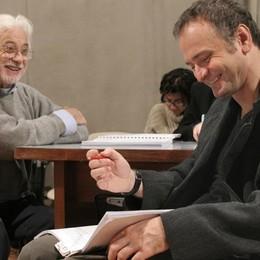 Ronconi e Massimo popolizio in «Atti di guerra» nel 2006