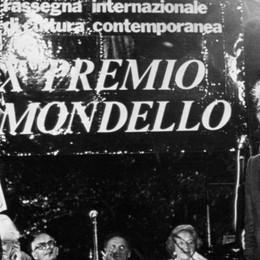 Luca Ronconi durante la cerimonia del Premio internazionale Mondello, il 15 settembre 1984