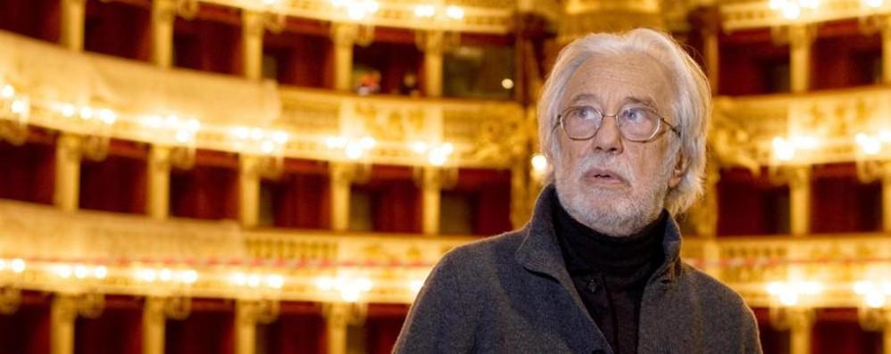 Il teatro piange Luca Ronconi A Bergamo il Premio alla Carriera