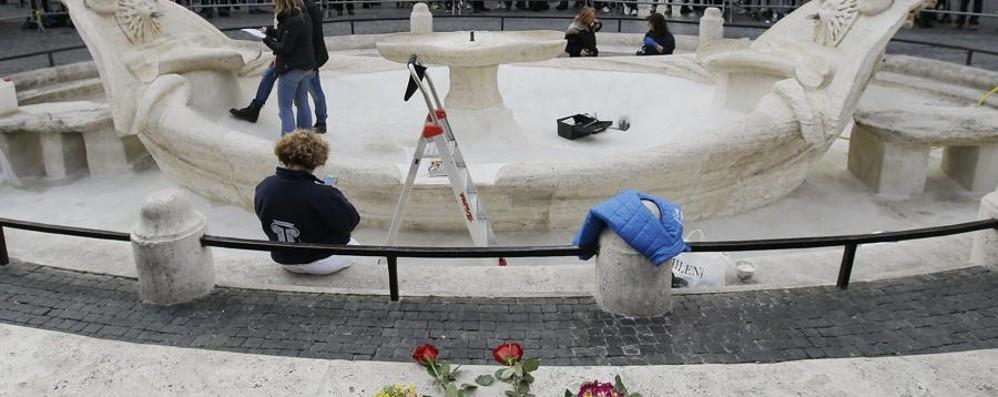 La fontana martoriata