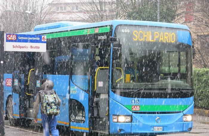 La nevicata a Clusone