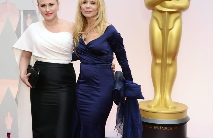 Patricia Arquette, da sinistra, e Rosanna Arquette