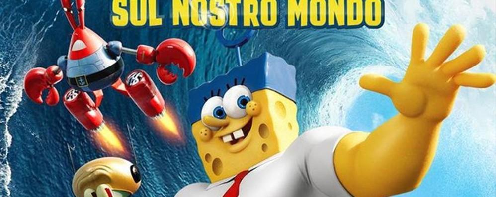 A Curno arriva Spongebob Evento fumettistico con Bergomix