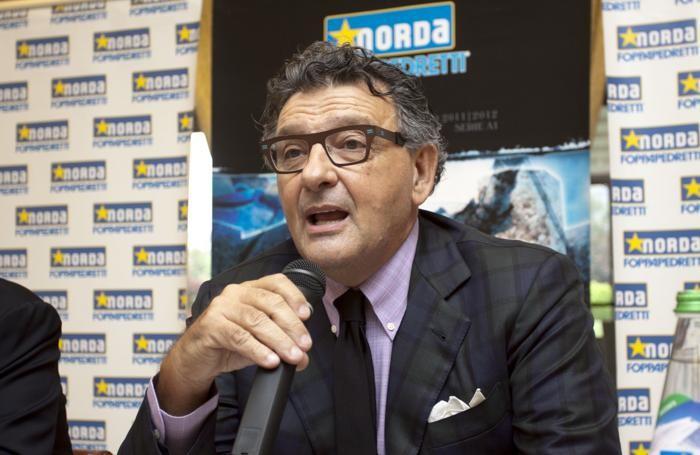 Luciano Bonetti,  presidente della Foppapedretti