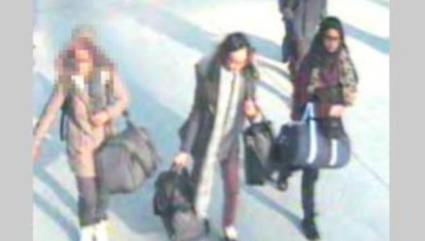 Isis: polizia Gb, ragazze già in Siria