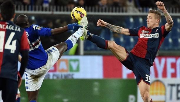 Serie A: Sampdoria-Genoa 1-1