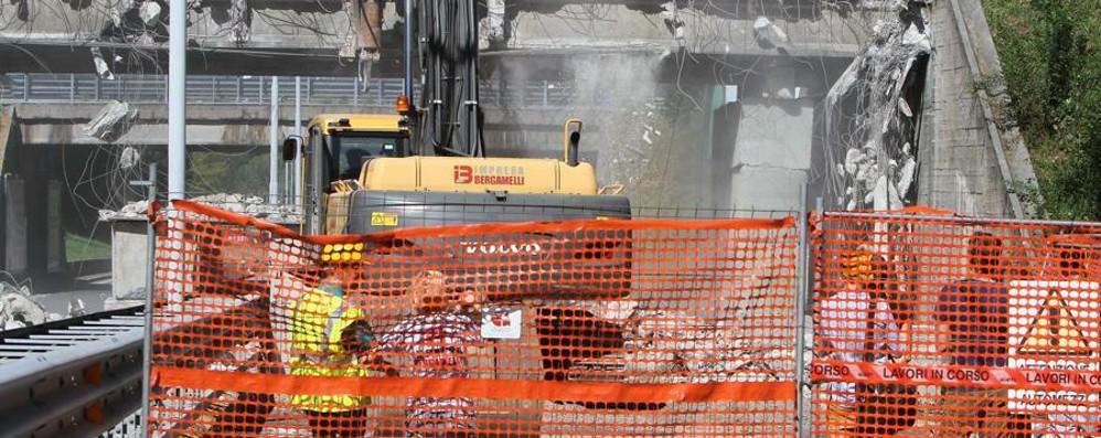 Monterosso, l'attesa è finita Scattano i lavori per il nuovo ponte