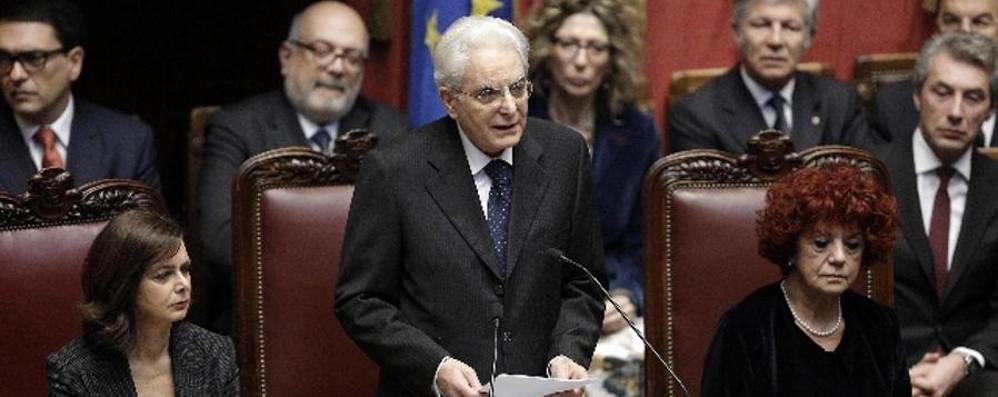 Mattarella: «Repubblica è popolo che si sente davvero comunità»