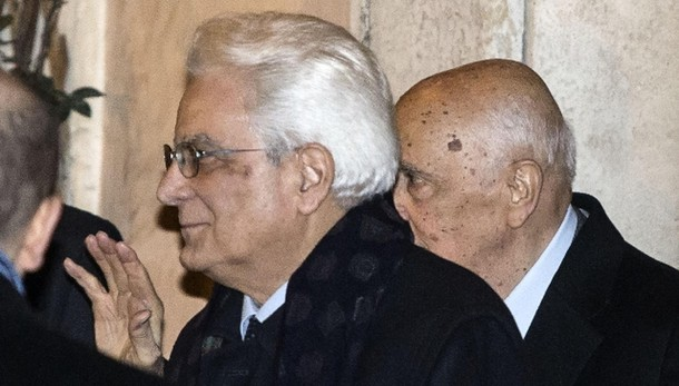 Napolitano, discorso non retorico