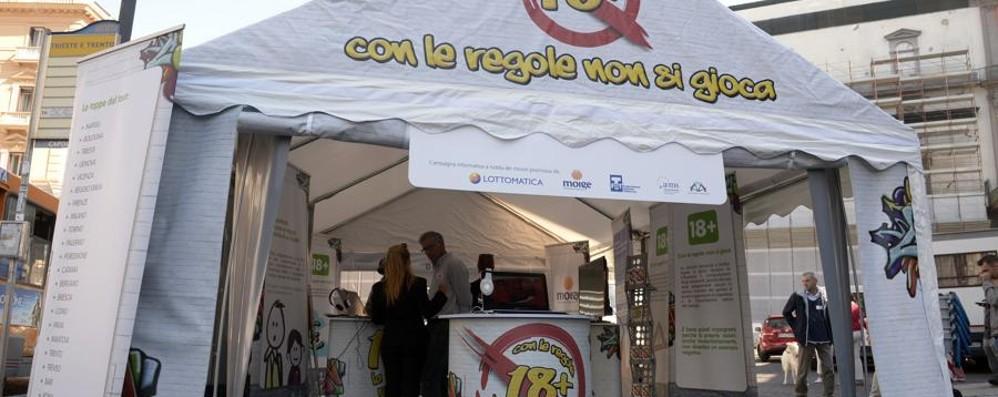 Stop al gioco minorile e problematico Campagna Moige e Fit in piazza Pontida