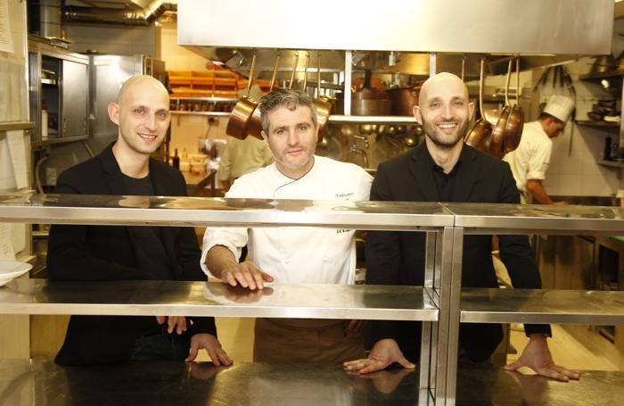 Da sinistra Omar Maffioletti, Francesco Gotti, Walter Maffioletti