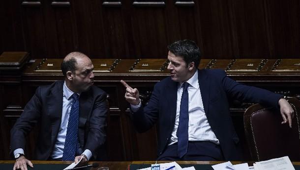 Incontro Renzi-Alfano, rilancio intesa