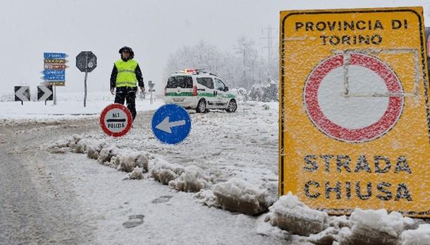 Maltempo:ancora allerta neve e temporali