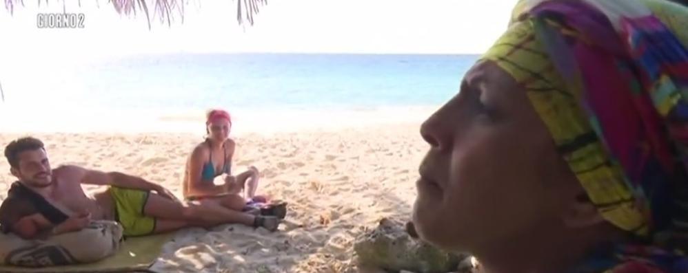 Rachida, che caratterino La prima lite sull'«Isola» è sua
