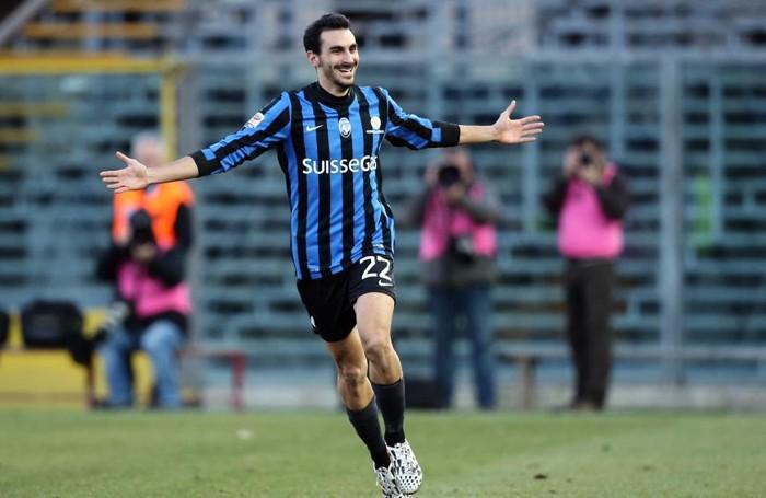 Zappacosta esulta dopo il goal al Chievo