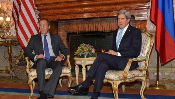Domani incontro Kerry-Lavrov a Monaco