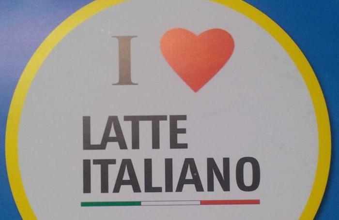 Il logo del latte italiano creato da Coldiretti