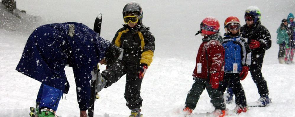 I bambini e gli sport sulla neve Ecco i consigli del «Bambin Gesù»