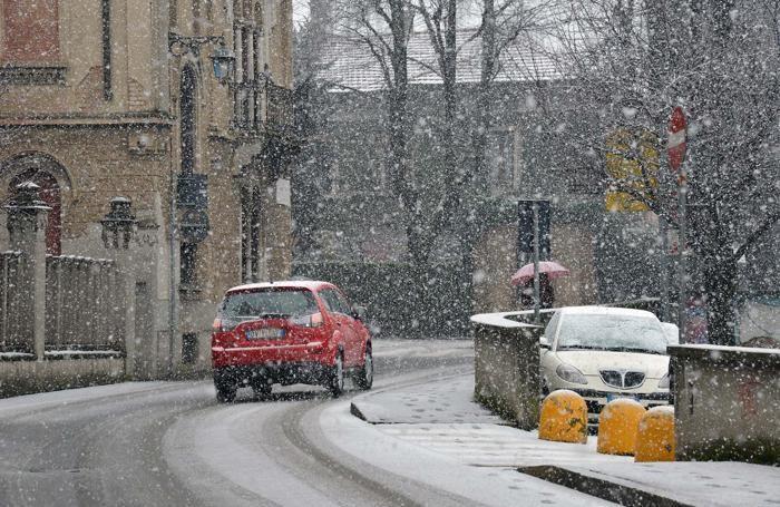 La neve a Treviglio