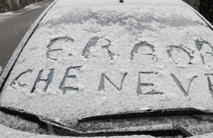 La neve a Clusone