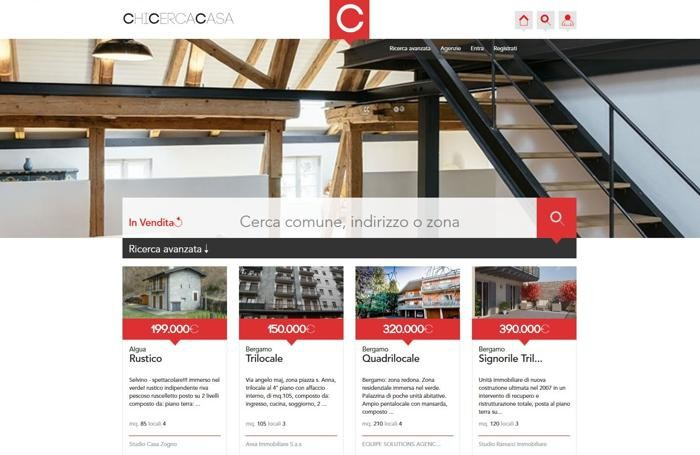 ChiCercaCasa: il sito