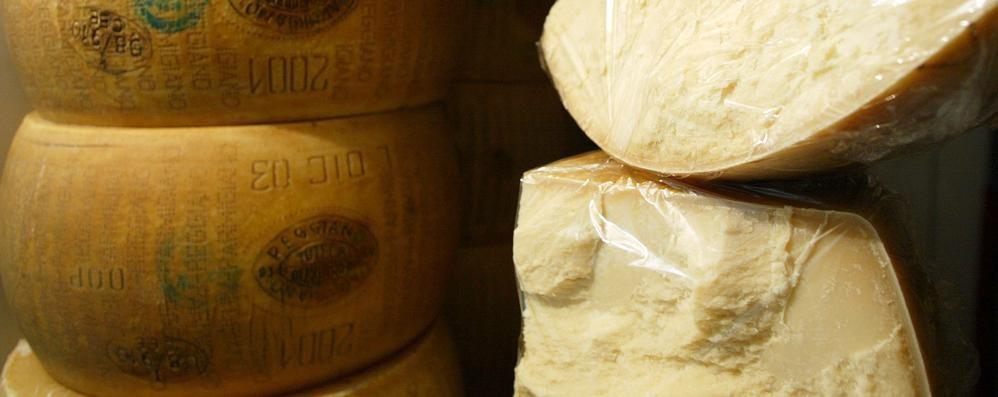 Parmigiano finto dop a Nembro Scovati 200 kg in Val Seriana