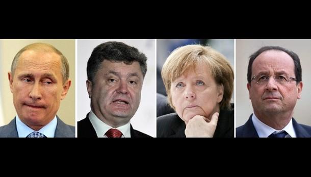 Ucraina: vertice Merkel-Hollande-Putin