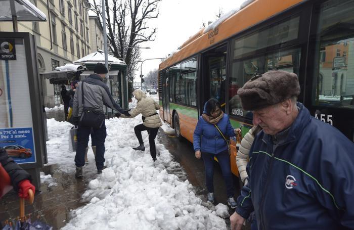 Neve: la situazione dei marciapiedi