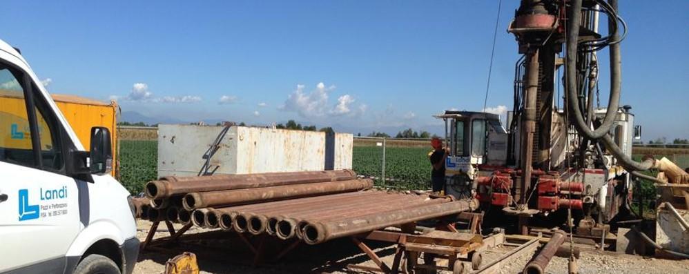 Tre nuovi pozzi nella Bassa A caccia della qualità dell'acqua