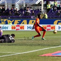 Il gol del 2-2 siglato da Boakye
