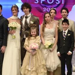 Le spose più belle? Da Stezzano In Fiera stravincono al concorso